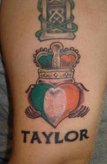 Irish pride taylor tattoo for Irish canadian tattoos